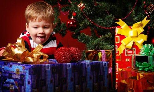 Подарок малышу на новый год своими руками